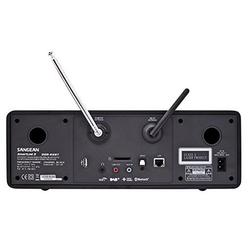 Radio Sangean DDR-66 BT SmartLink 9 - 3