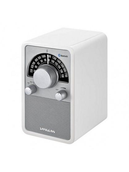 Radio Sangean WR-15 BT Blanca - 1