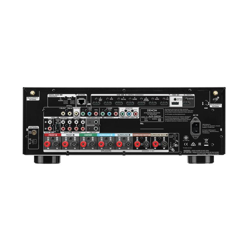 Receptor AV Denon AVR-S950H - 4