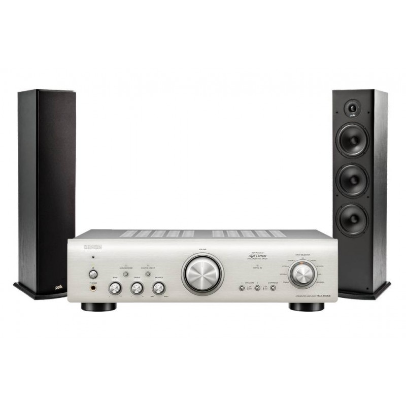Conjunto amplificador Denon PMA800NE + altavoces Polk T50 - 1