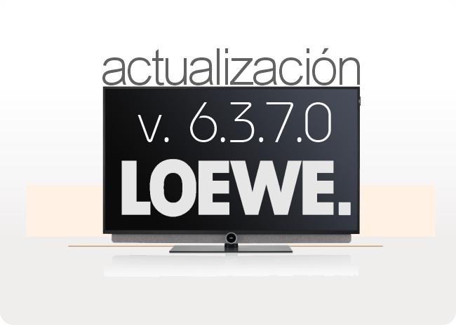 Actualización de software Loewe