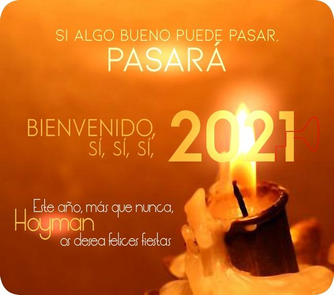 Felicitación Navidad 2020 Hoyman
