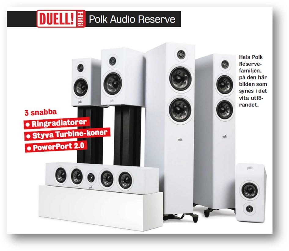 Premio Bra Köp hifi para Polk Audio Reserve R600 y R700
